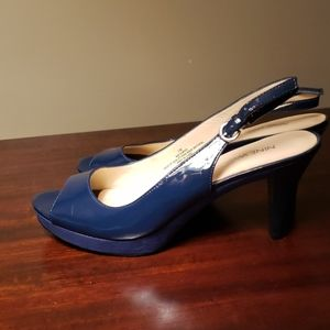 Nine West Blue heels